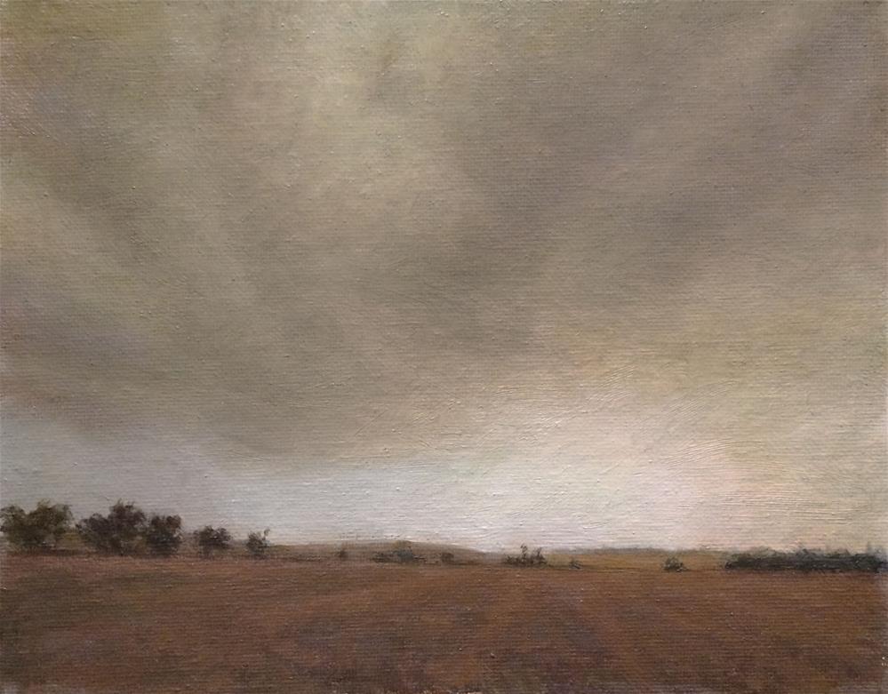 """""""cloud"""" original fine art by Yuehua He"""