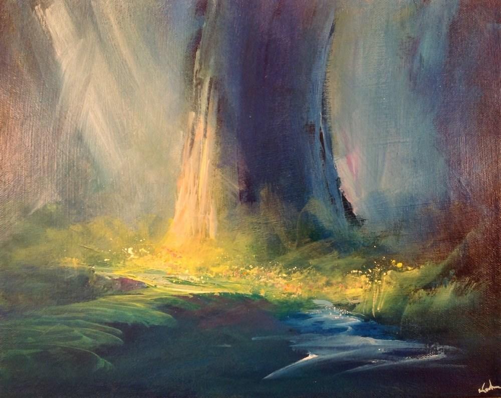"""Upon Imagining"" original fine art by David Kuhn"