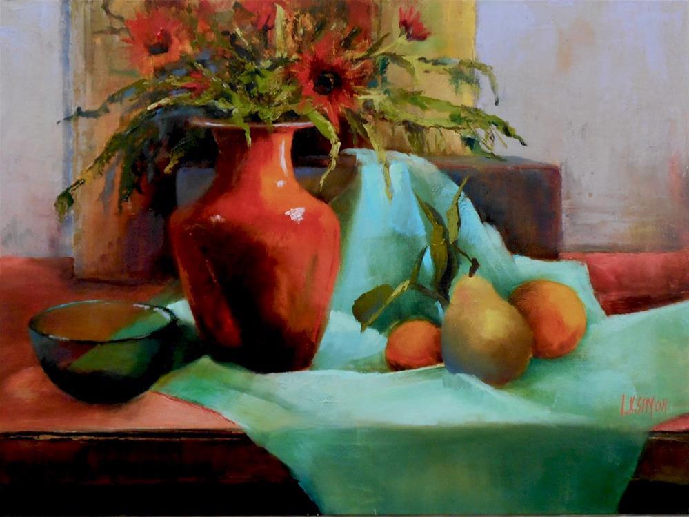 """""""Garden Bounty"""" original fine art by A.K. Simon"""