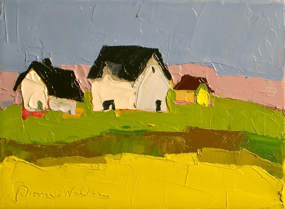"""Simple Living II"" original fine art by Donna Walker"