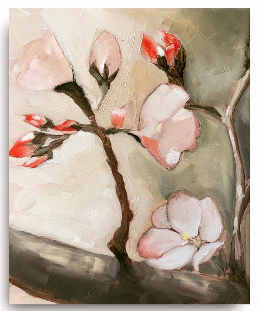 """784 MAGNOLIA"" original fine art by Jenny Doh"