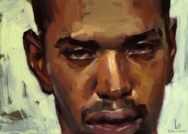 """Scathing"" original fine art by John Larriva"