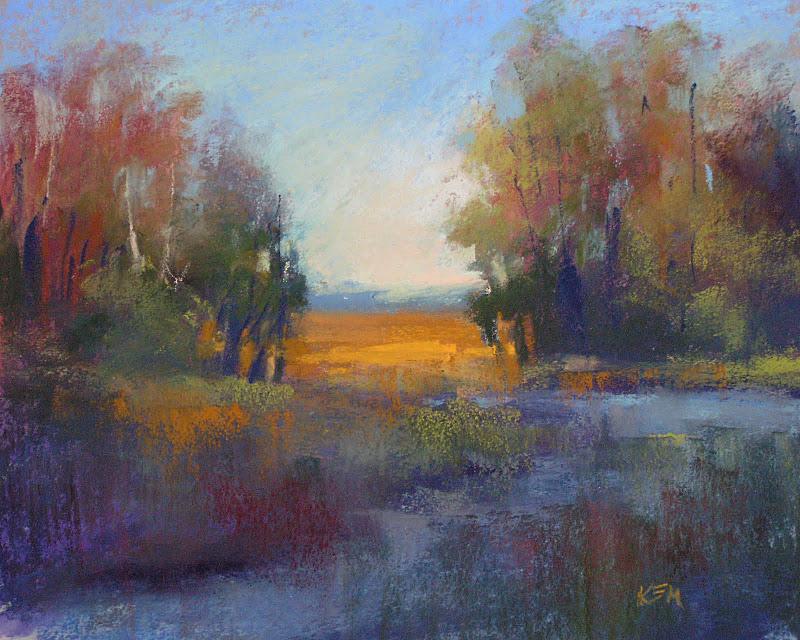 """My Review of Canson Mi-Teintes Touch part 2"" original fine art by Karen Margulis"
