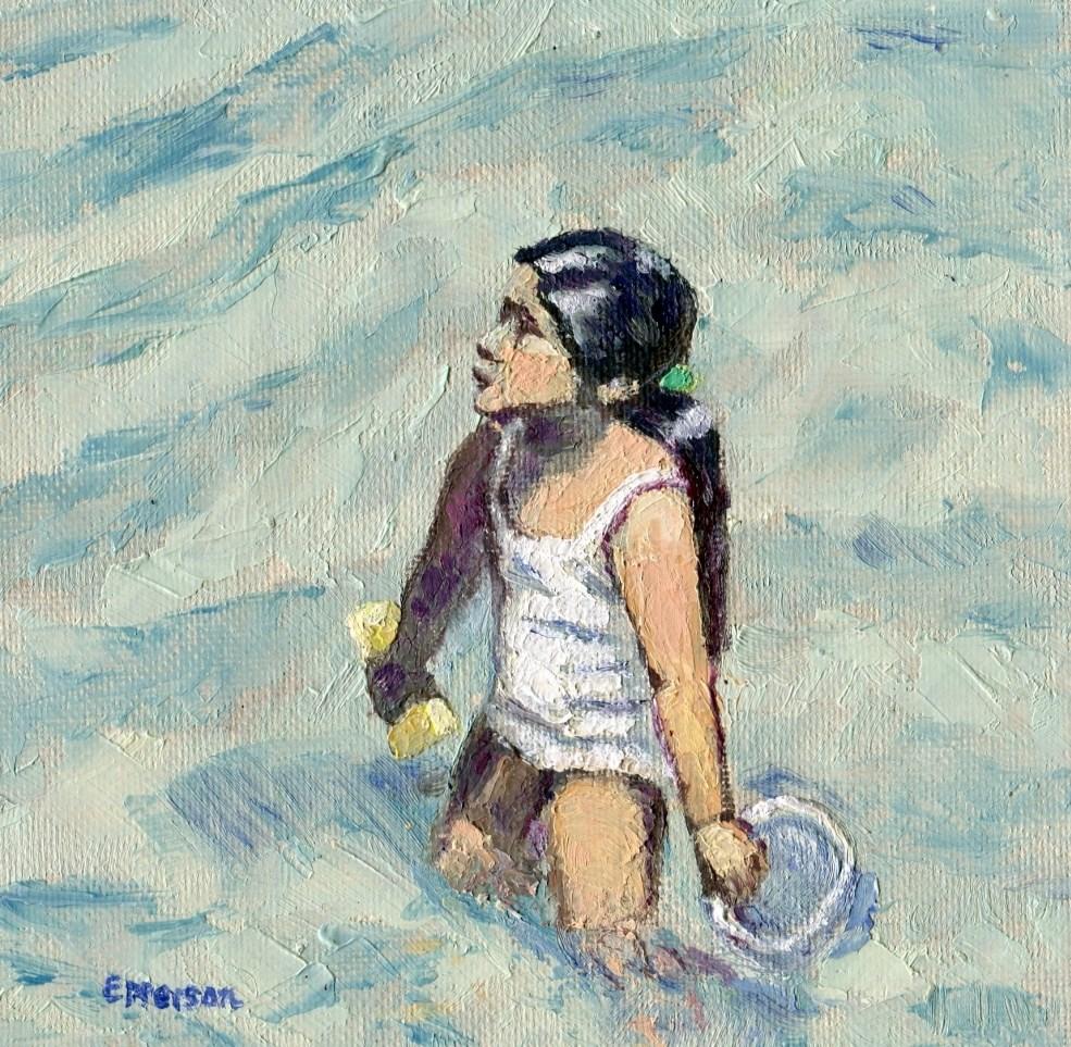 """""""Ondine"""" original fine art by Stanley Epperson"""