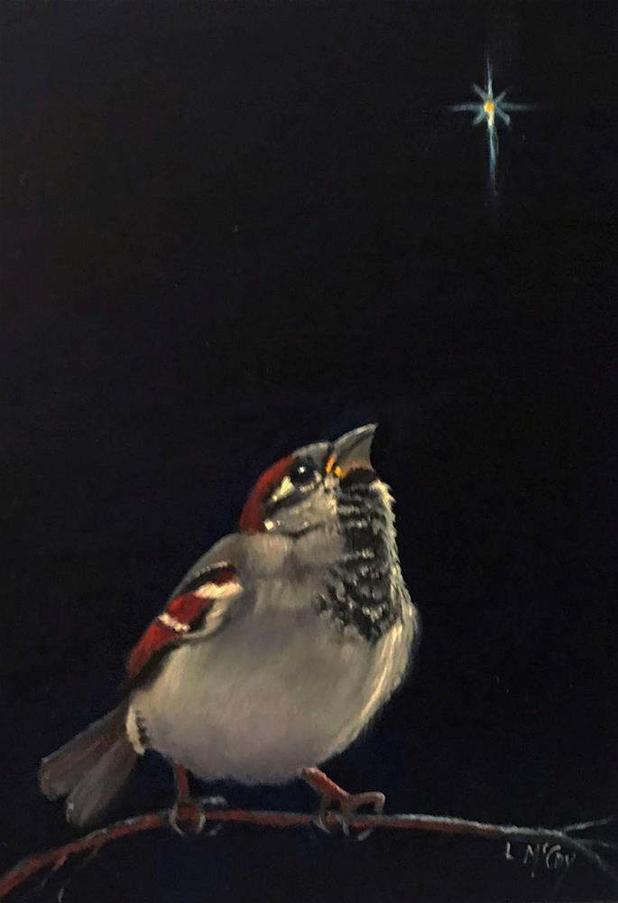 """Rejoice"" original fine art by Linda McCoy"