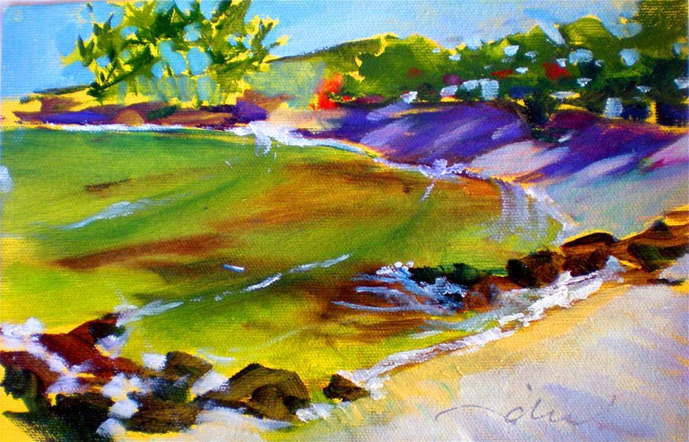 """""""Quiet Morning - 150203s"""" original fine art by richard rochkovsky"""