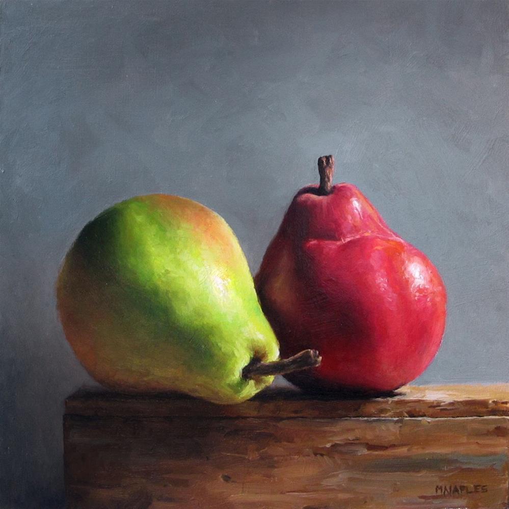 """Organic Pair"" original fine art by Michael Naples"