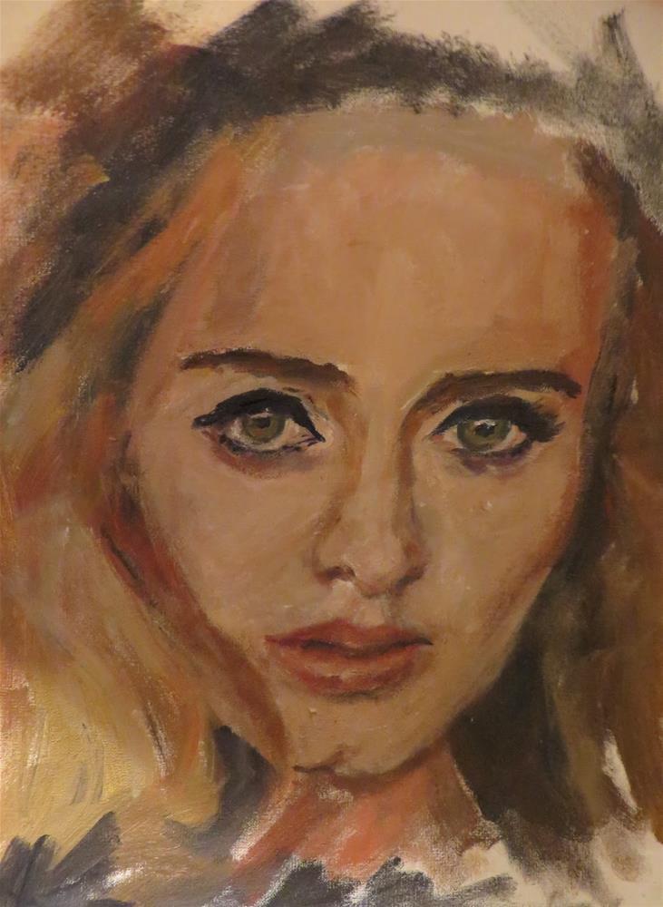 """""""731 Hello"""" original fine art by Diane Campion"""