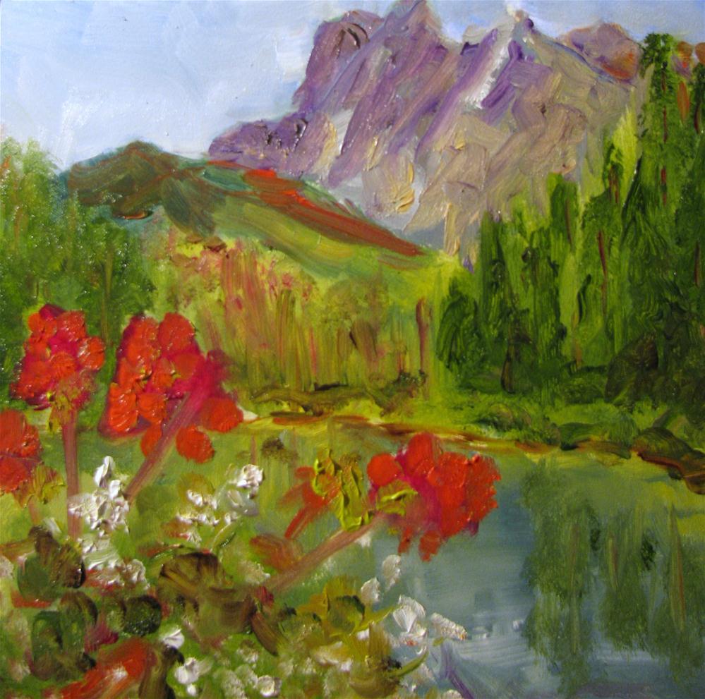 """Yoho National Park, British Columbia, Canada"" original fine art by Susan Elizabeth Jones"