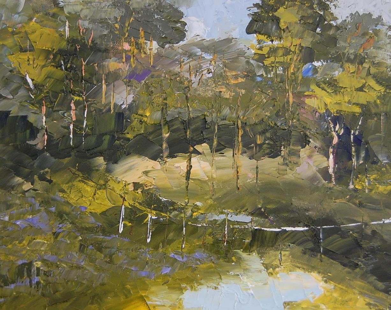 """""""Clearing"""" original fine art by Deborah Harold"""