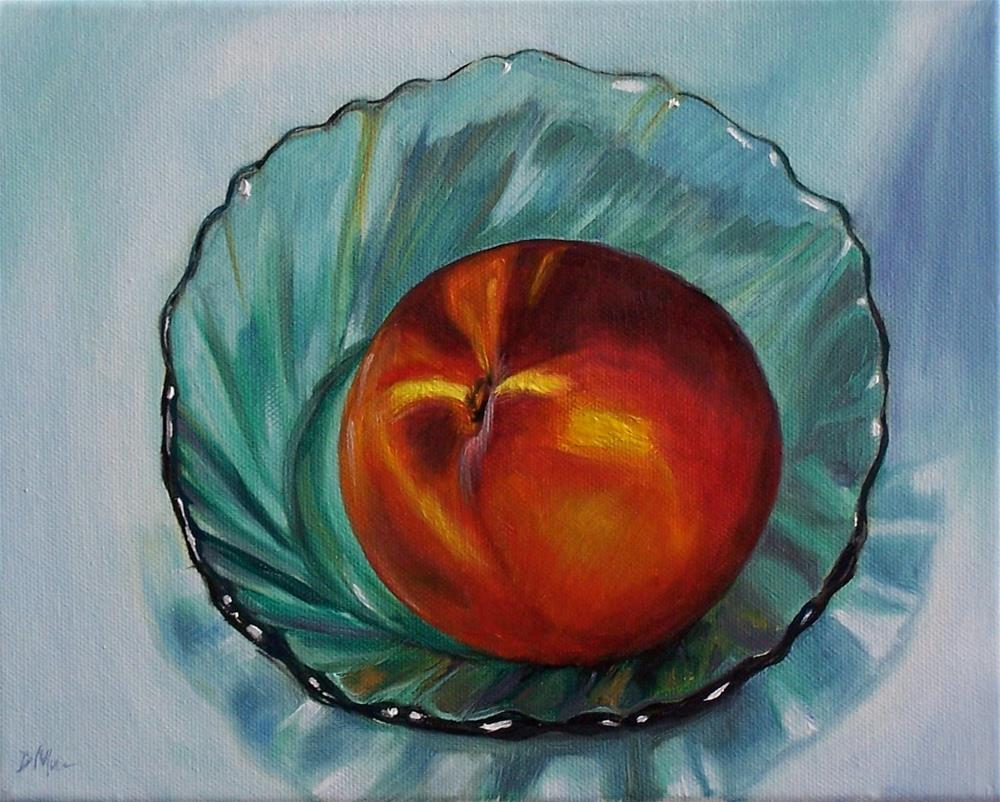 """Giant Peach"" original fine art by Donna Munsch"