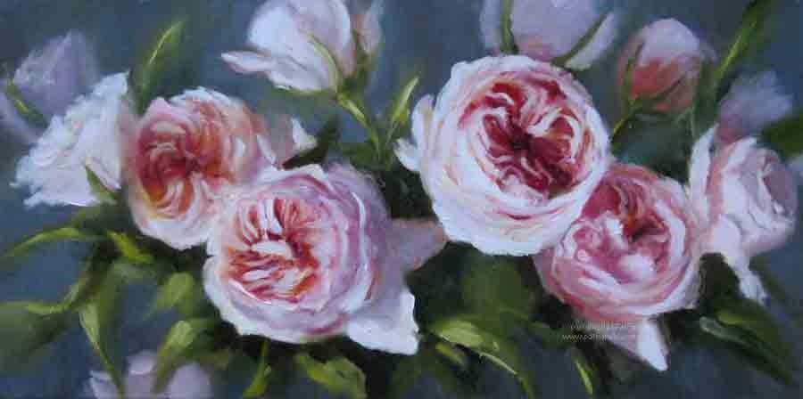 """""""Grace"""" original fine art by Pat Fiorello"""
