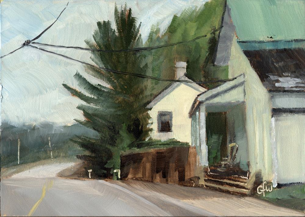 """""""The Old Store"""" original fine art by Gary Westlake"""