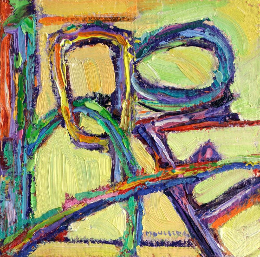 """Hope, Psalm 31:24"" original fine art by Cynthia Mahlberg"