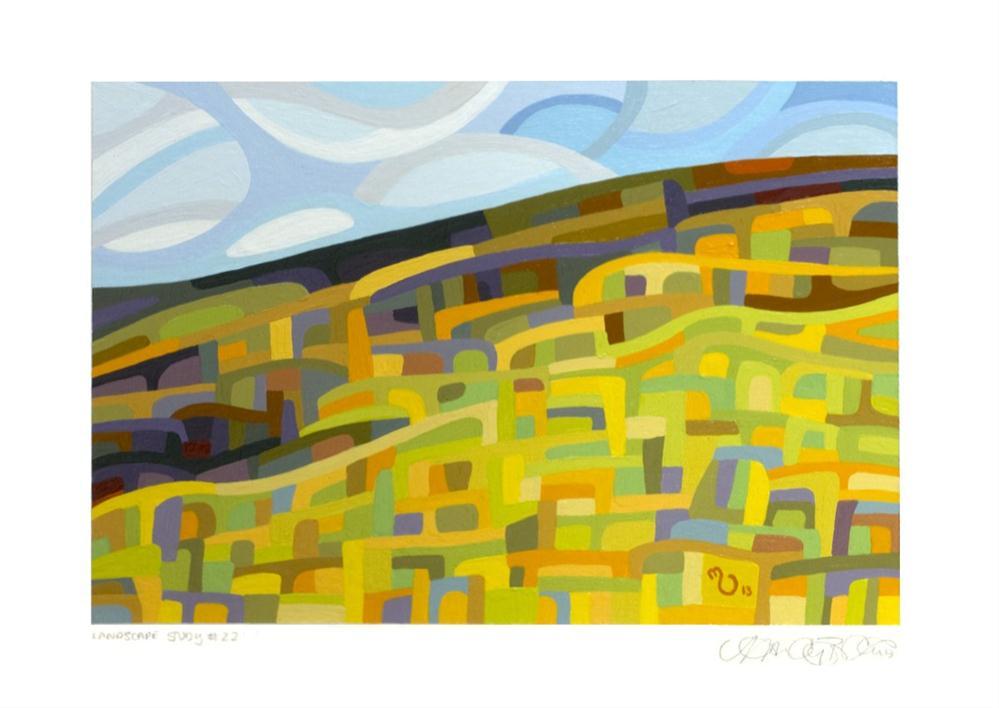 """Landscape Study #22"" original fine art by Mandy Budan"