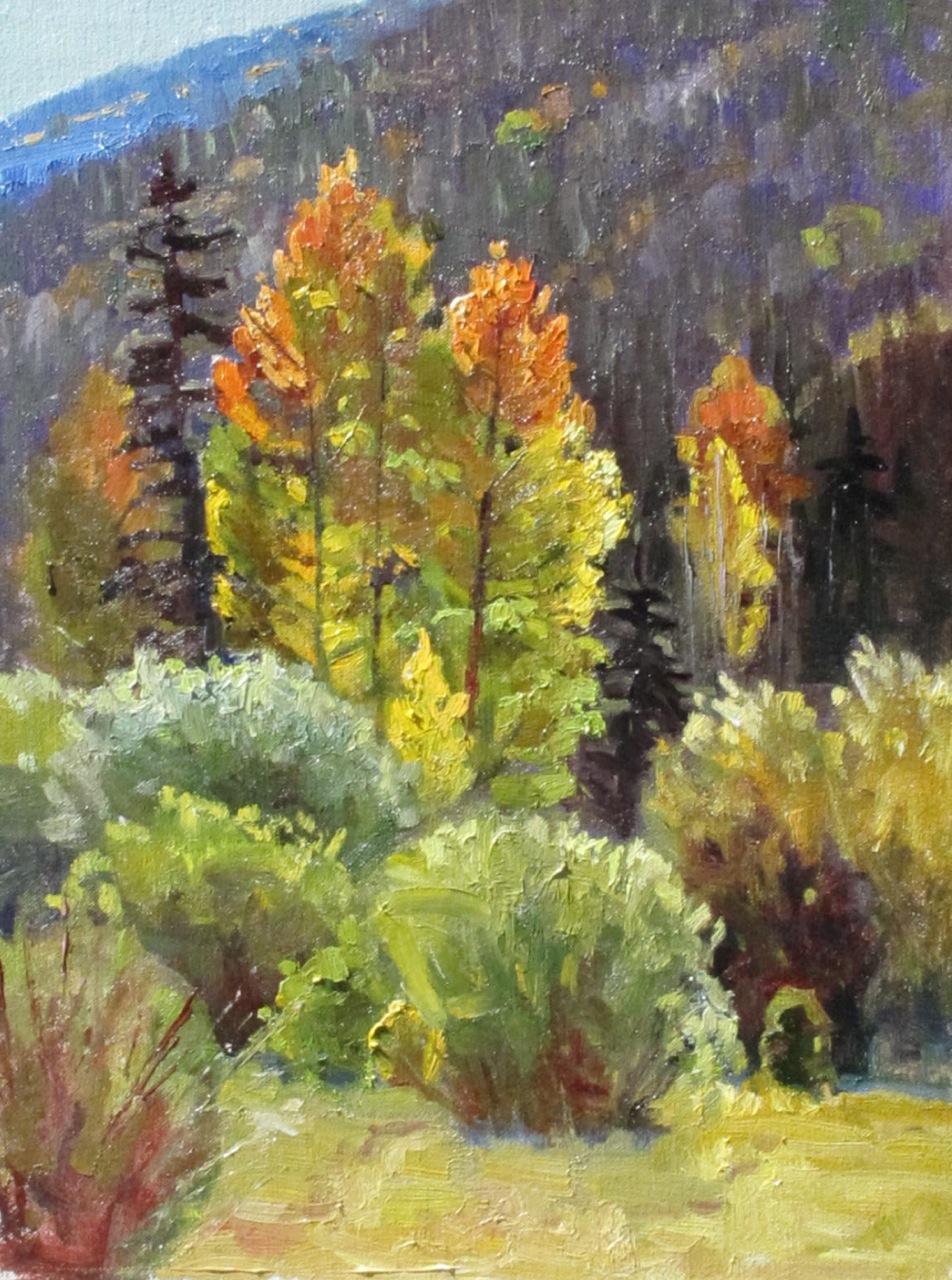 """""""Fall in La Garita"""" original fine art by Susan McCullough"""