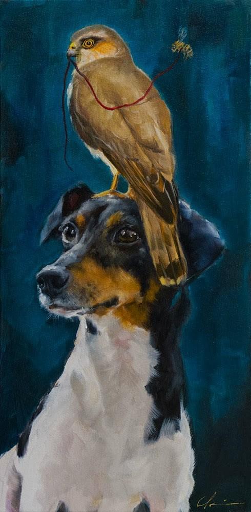"""The Guardian"" original fine art by Clair Hartmann"