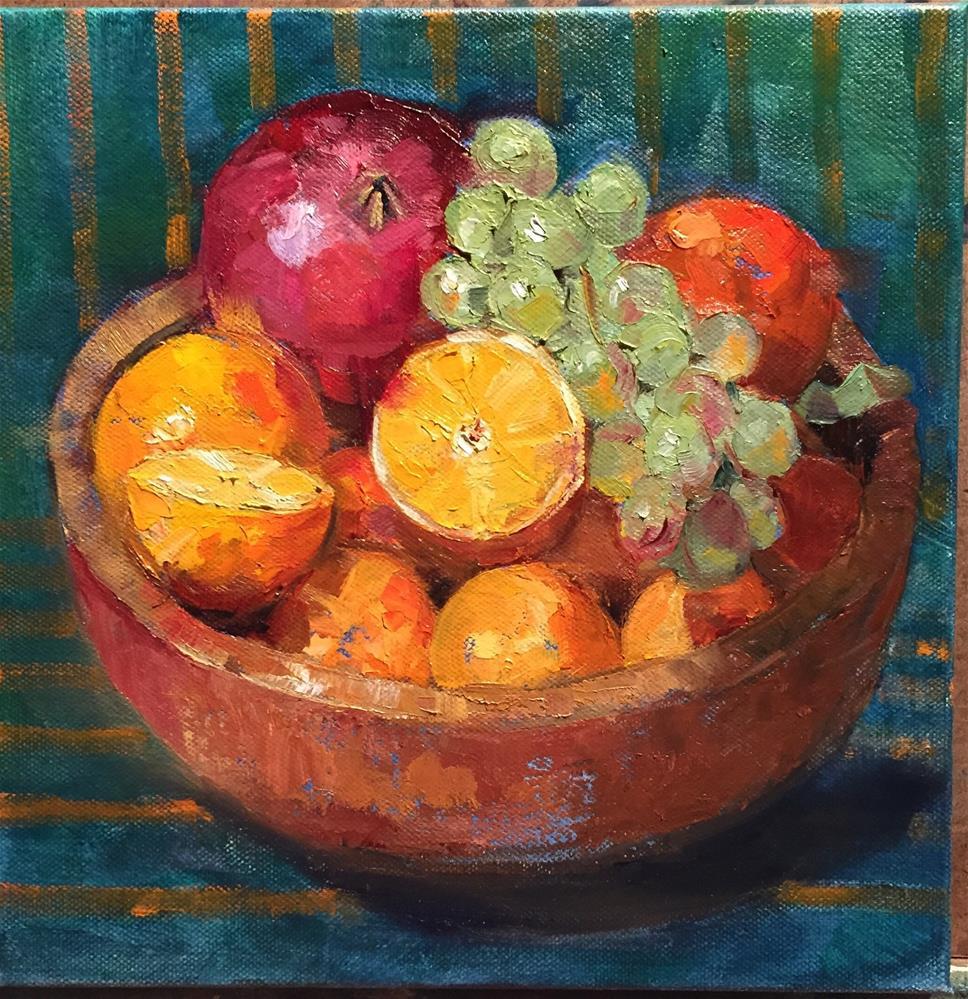 """""""Sweet Treats"""" original fine art by Barbara Fluty"""