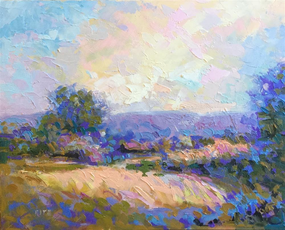 """Jackson's Farm"" original fine art by Charlotte Fitzgerald"
