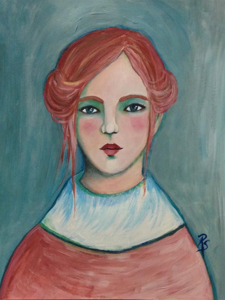 """Emily Rose"" original fine art by Roberta Schmidt"