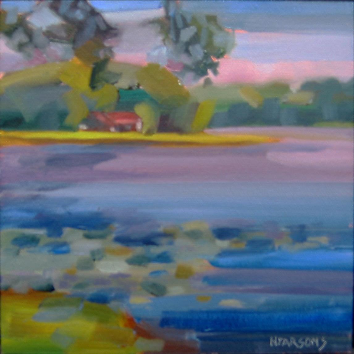 """Water's Edge"" original fine art by Nancy Parsons"