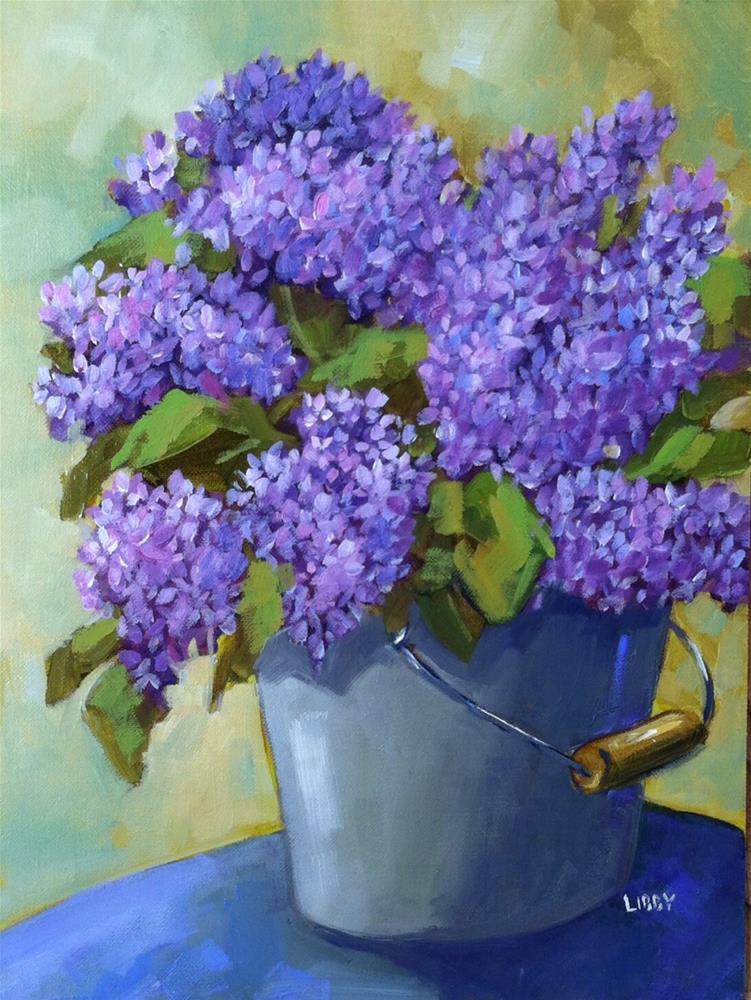 """Bucket List"" original fine art by Libby Anderson"