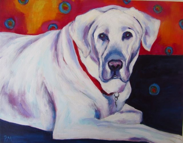 """Hobbes"" original fine art by Patricia MacDonald"