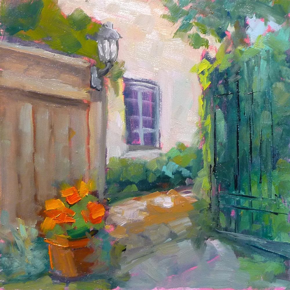"""Way Out"" original fine art by Carol Josefiak"