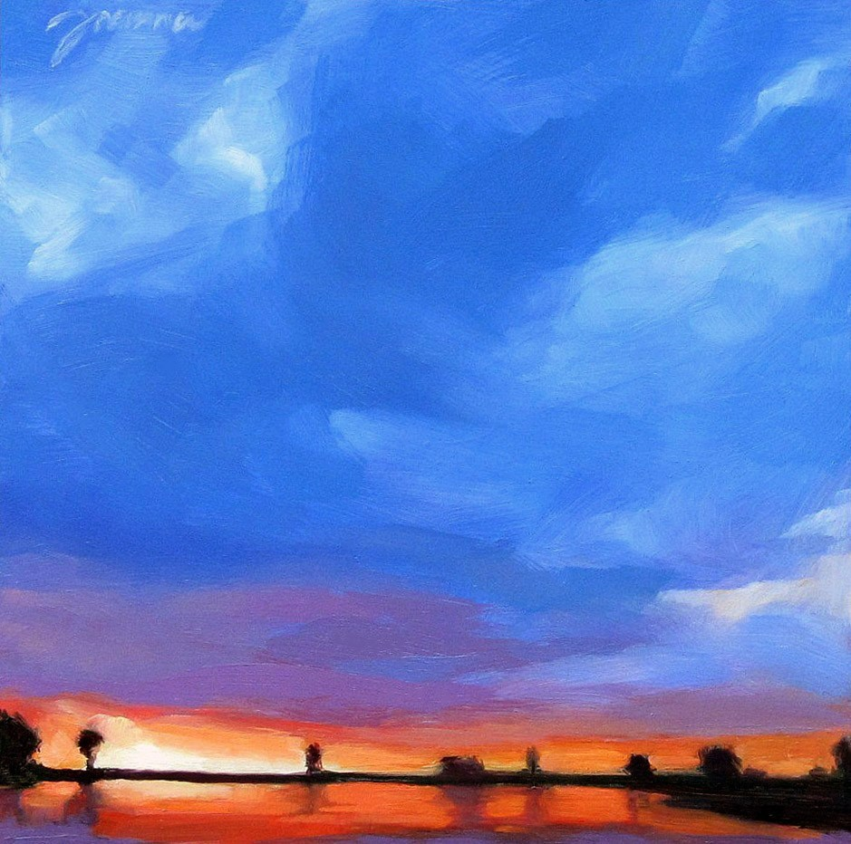 """Expanding"" original fine art by Joanna Bingham"