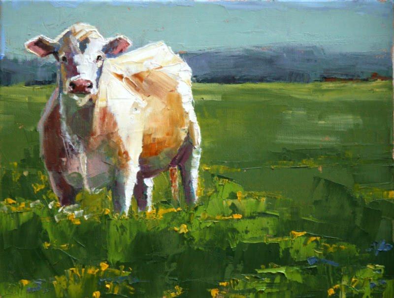 """spring"" original fine art by Carol Carmichael"