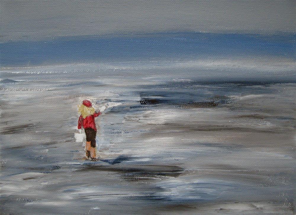 """Low Tide"" original fine art by Alina Frent"