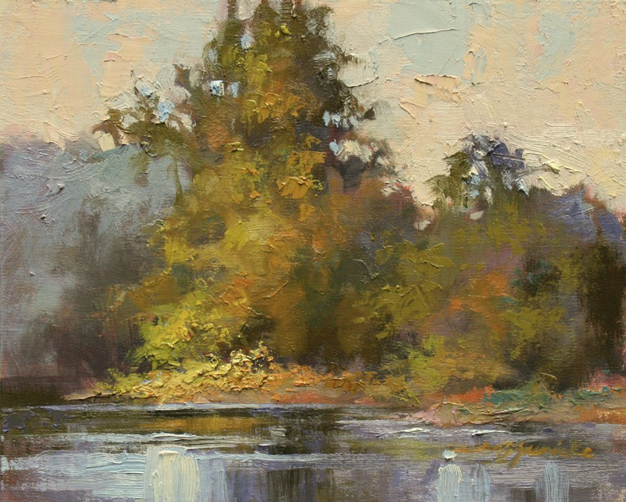 """As the Sun Broke Through"" original fine art by Barbara Jaenicke"
