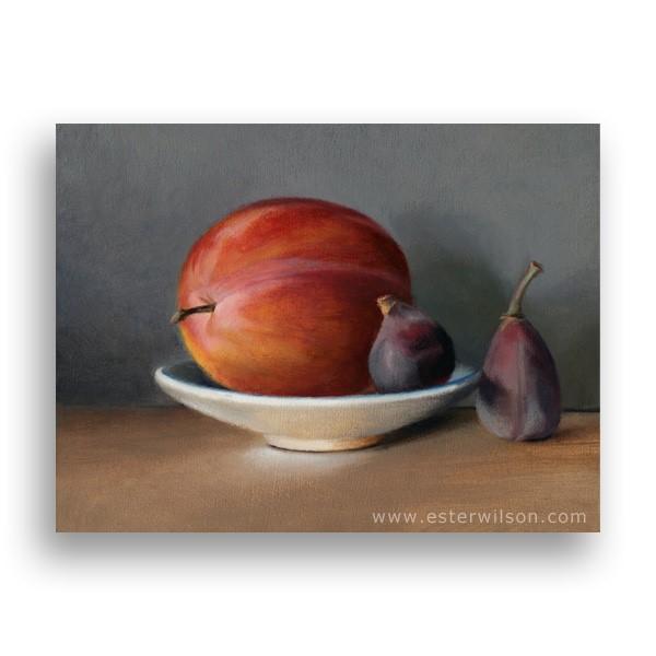 """""""Summer Fruit"""" original fine art by Ester Wilson"""