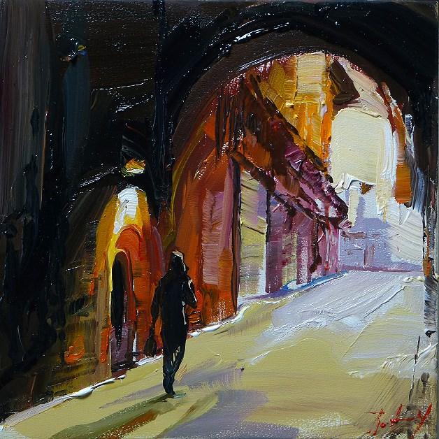 """""""in the south"""" original fine art by Jurij Frey"""