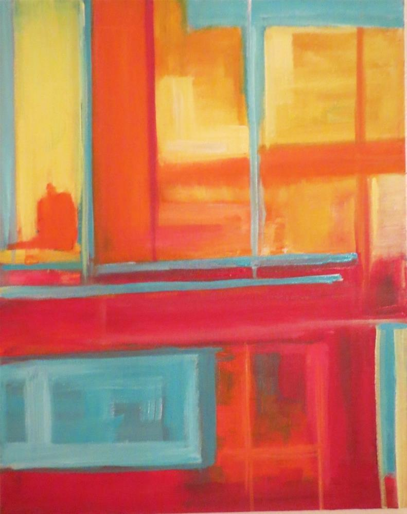 """""""Windows"""" original fine art by Astrid Buchhammer"""