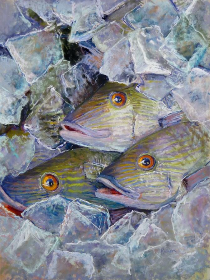"""Chiller Theature"" original fine art by karen israel"