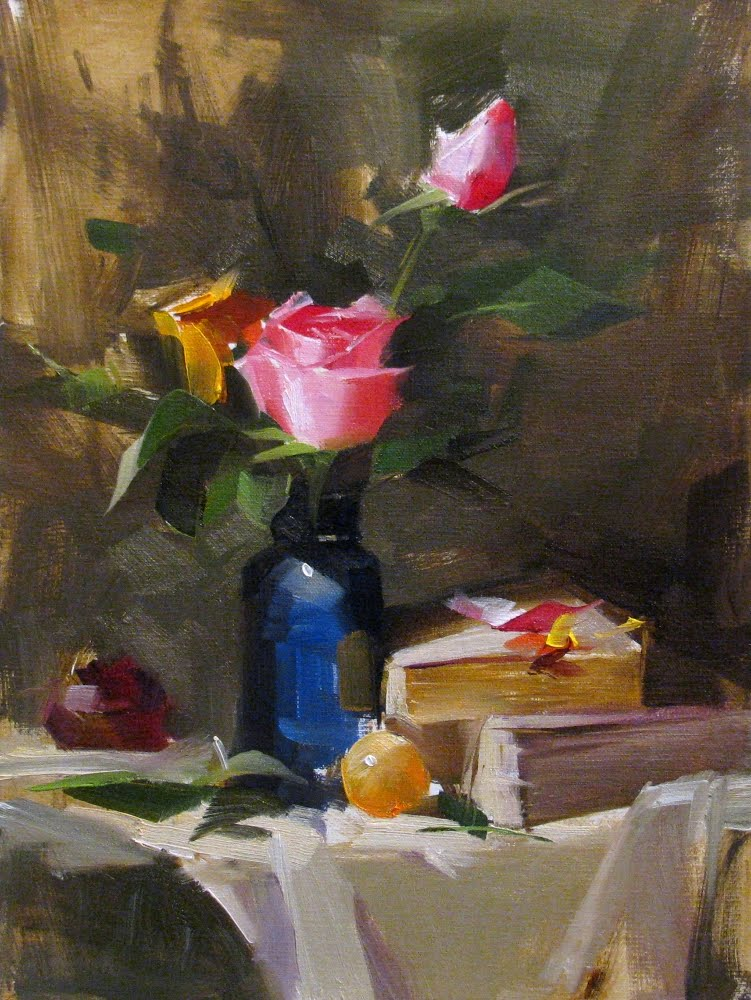 """""""Demo at Noblesville 2 --- Sold"""" original fine art by Qiang Huang"""