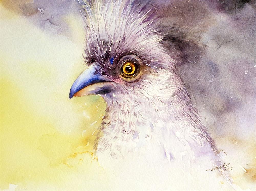 """""""mousebird"""" original fine art by Arti Chauhan"""