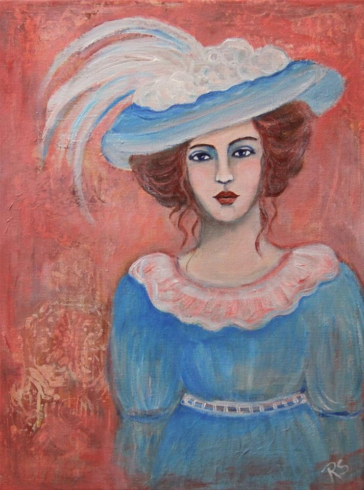"""Isabella"" original fine art by Roberta Schmidt ArtcyLucy"