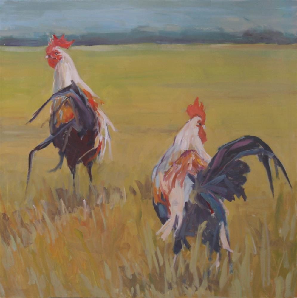 """""""this way and that way"""" original fine art by Carol Carmichael"""