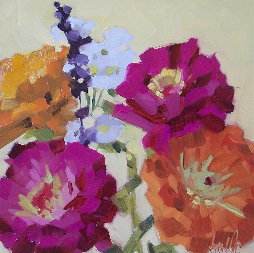 """Color Show"" original fine art by Brandi Bowman"