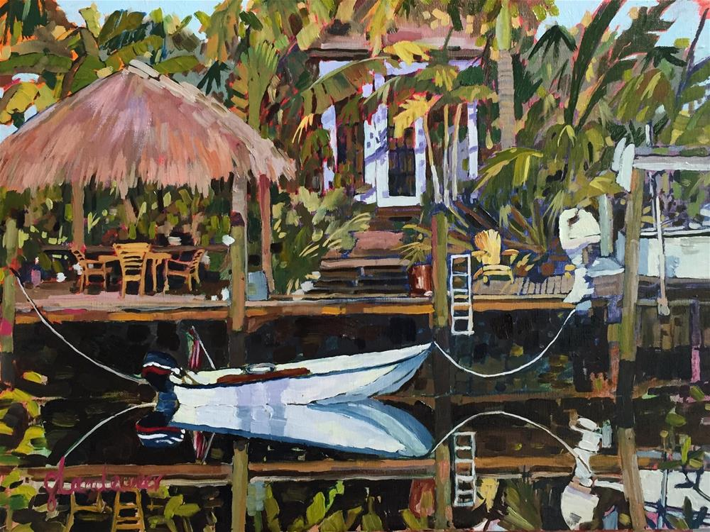 """""""Kruger Creek"""" original fine art by Carol Baehren Landeweer"""
