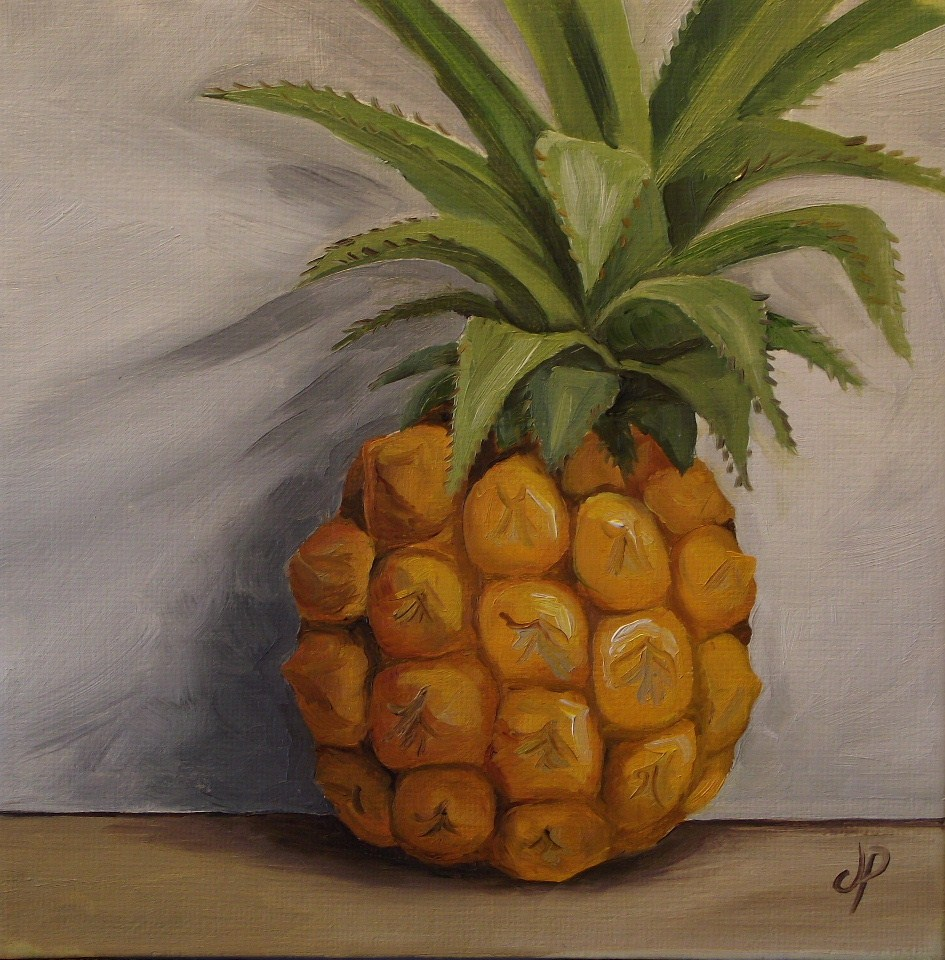 """Baby Pineapple"" original fine art by Jane Palmer"