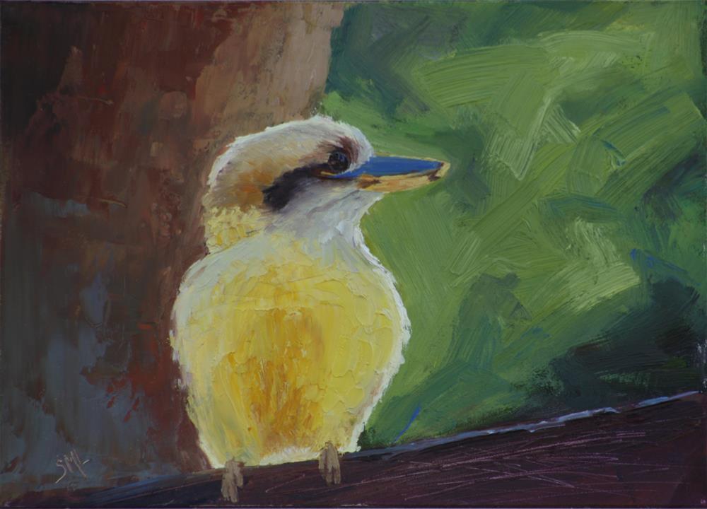 """Piece of Sunshine"" original fine art by Sheila Marie"