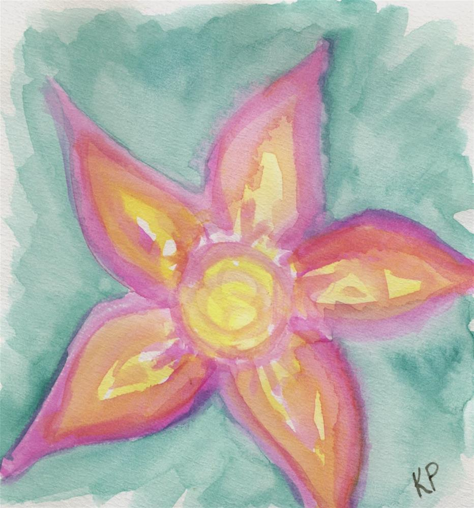 """""""Art washes away from the soul the dust of everyday life."""" original fine art by Kali Parsons"""