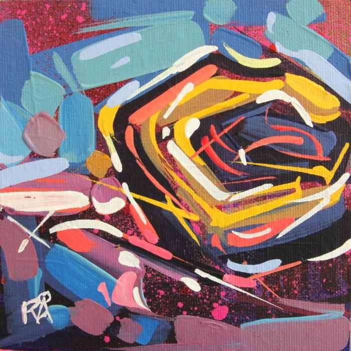 """Bird's Nest Abstraction 49"" original fine art by Roger Akesson"