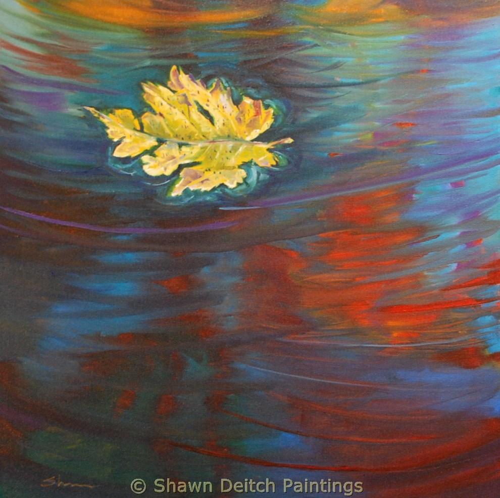 """""""Summer's End"""" original fine art by Shawn Deitch"""