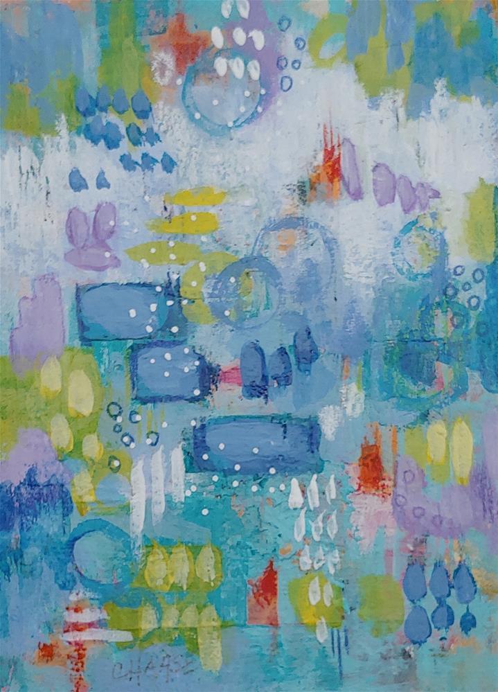 """""""Ida's Garden Tour #2"""" original fine art by Cindy Haase"""