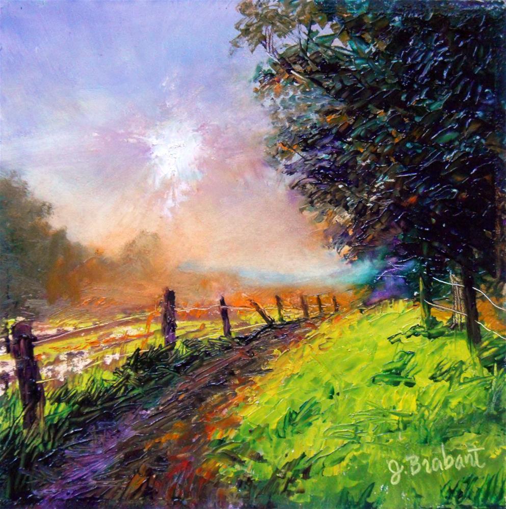 """Rise and Shine"" original fine art by Jill Brabant"