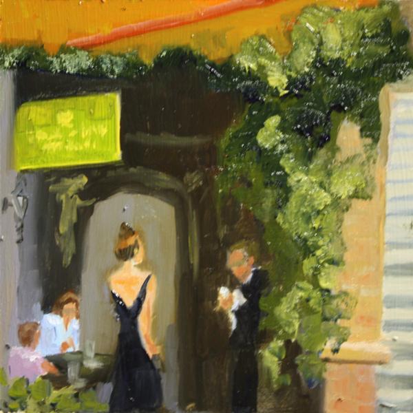 """Composition Challenge"" original fine art by Jane Frederick"